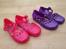 Two Pairs Children's Place Toddler Girl's Jelly Shoes Sandals Pink Purple 10
