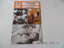 CARTE FICHE CINEMA 1965 LA MANDRAGORE Rosanna Schiaffino Philippe Leroy R.Valli