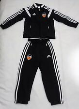 VALENCIA BLACK PRESENTATION SUIT BY ADIDAS SIZE BOYS SIZE 13-14 YEARS BRAND NEW