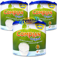 3x Nutricia Complan Original Flavour Vitamin Mineral Energy Drink 425g