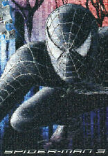 """BLACK SPIDERMAN"" 3 Cartoon Comic Movie Photomosaic BOXLESS Jigsaw Puzzle *NEW*"