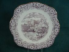 Sutherland Historical Britain Mulberry Warwick Castle Underplate Cookie / Cake