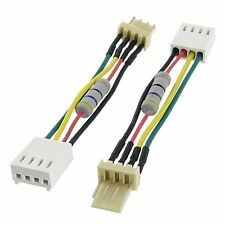 4 Pin PC Desktop CPU VGA Fan Speed Noise Resistance Deceleration Cable Connector