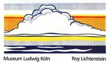Roy Lichtenstein Cloud and Sea Poster Kunstdruck Bild Siebdruck 70x120cm