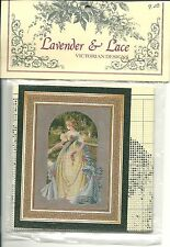 "SALE! COMPLETE X STITCH KIT ""QUEEN ANNE'S LACE"" by Lavender and Lace"