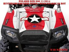 Invision DECORO GRAPHIC KIT ATV POLARIS RANGER RZR 570/700/800/900 era machine B