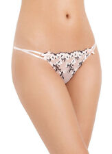 L'AGENT By AGENT PROVOCATEUR Kaity Tanga Brief Nude/Black BNWT