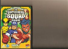 MARVEL SUPER HERO SQUAD SHOW SERIES 1 EPISODES 4 - 6 DVD KIDS