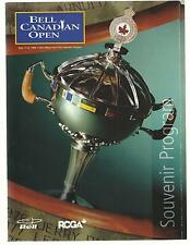 Golf BELL CANADIAN OPEN 1998 SOUVENIR PROGRAM Glen Abbey Golf Club  NRMT