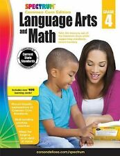 Spectrum Language Arts and Math, Grade 4 : Common Core Edition (2015, Paperback)