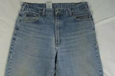Carhartt B17 DST Faded Color Denim Work Jeans Tag 38x34 Measure 37x33