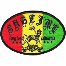 SUBLIME - Rasta Lou Dog - Ska Punk Rock N' Roll Band Iron - On Patch