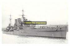 rp10098 - Royal Navy Warship - HMS Exeter , built 1931 - photo 6x4