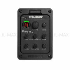 FISHMAN PRESYS-201 ONBOARD PREAMPS CLASSIC ACOUSTIC GUITAR EQ TUNER PIEZO PICKUP