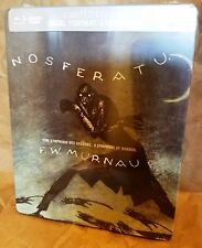NOSFERATU (1922) Max Schreck F.W. Murnau Blu-Ray UK Exclusive Limited STEELBOOK