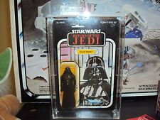 STAR WARS  VINTAGE FIGURES ACRYLIC CASES 9 H X 6  W X 1 1/4  D INSIDE DE