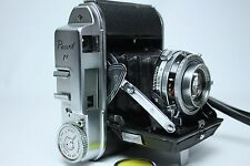 Konica Pearl IV Camera Body with Hexar 75mm f/3.5 Excellent++++ from Japan