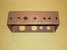 5F1 Chassis For Tweed Champ, '63 Brown Powder Coat,  USA made,  Free ship