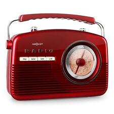 1950's VINTAGE PORTABLE FM RADIO SOUND SYSTEM RETRO RED *FREE P&P SPECIAL OFFER