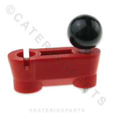 PIZZA DOUGH ROLLER SPARE PARTS PIZZAGROUP 3503800 RED THICKNESS ADJUSTER 52 X 20