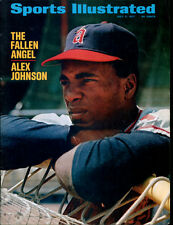 1971 Sports Illustrated No Label Newsstand 7/5/71 Alex Johnson Angels NMT 21565