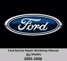 Ford ALL Models 2005-2006 Service Repair Workshop Manual on DVD,