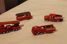 Estate Lot of 4 Toy Fire Engines