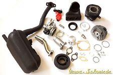 VESPA Tuning-Kit PK 50 / XL / XL2 - Stufe 2 - Zylinder DR 75cm³ Vergaser Auspuff
