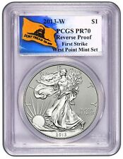 2013-W PCGS PR70 Reverse Proof SILVER EAGLE First Strike (Dont Tread on Me)