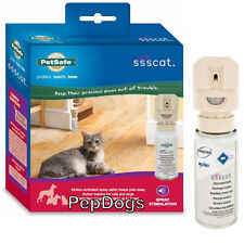 Petsafe SSSCAT Spray Deterrent Cat & Dog Repellent MOTION ACTIVATED Training Kit