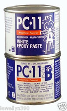 1/2 LB PC11 White Epoxy Cement, Paste MARINE GRADE Filler PC-11 NEW!
