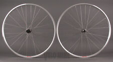 Velocity A23 Silver Rims Shimano 105 5800 32h Hubs Wheelset Road or CX Wheels
