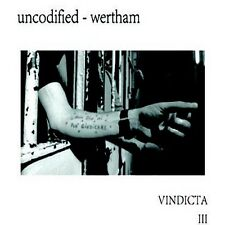 UNCODIFIED/WERTHAM Vindicata III CD Digipack 2016