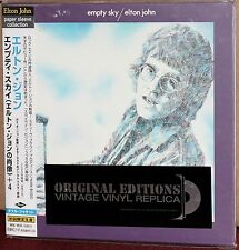 JAPAN Made CD UICY-9100: ELTON JOHN - Empty Sky - OBI 2001 OOP SEALED