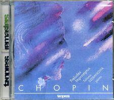 CD CHOPIN Preludes Impromptus TATIANA SZEBANOWA / SHEBANOVA