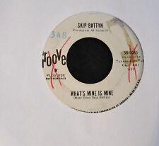 Skip Battyn Groove DJ 0065 What's Mine Is Mine and Ten Feet Tall