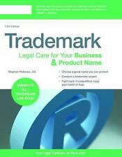 Trademark : Legal Care for Your Business and Product Name by Stephen Elias...