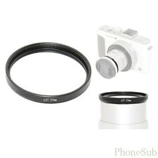 37mm Lens Filter Adapter Ring for Panasonic Lumix DMC LX7 DMW-FA1 Black ATLX7BK