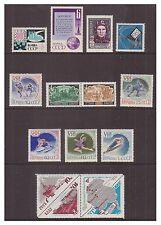 Russia - 14 stamps - u/m (cat. £26.00) 1960 - 1970