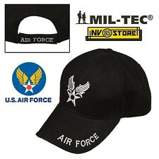 CAPPELLO BERRETTO MIL-TEC LOGO AIR FORCE USAF ARMY MILITARE SOFTAIR BASEBALL