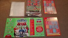 Match Attax 2010/11 binder/play pitch stater pack Premiership no cards included