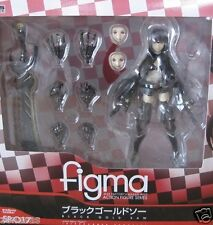 New Max Factory Figma Black Rock Shooter Black Gold Saw PAINTED