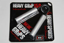 NEW Heavy Grips Hand Grippers HG150 + Finger Bands - Get a Crushing Grip NOW