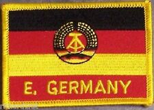 Embroidered International Patch National Flag of East Germany NEW flag