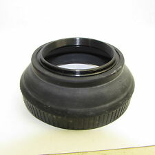 Used 58mm Collapsible Rubber Lens Hood Made in Japan S117003
