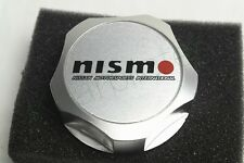 1Pcs Car Luxury Silvery Nismo Racing Oil Filler Cap Fuel Tank Cover Aluminum