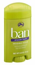 3 Pack - Ban Anti-Perspirant Deodorant Invisible Solid Shower Fresh 2.60oz Each