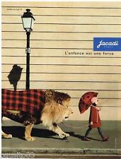 PUBLICITE ADVERTISING 105  2002  JACADI   vetements enfants