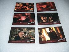 A NIGHTMARE on ELM STREET Promo Preview Card Set - Freddy Kruger - Horror