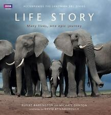 BBC BOOK LIFE STORY Many Lives One Epic Journey HCDJ NEW! Wildlife Survival